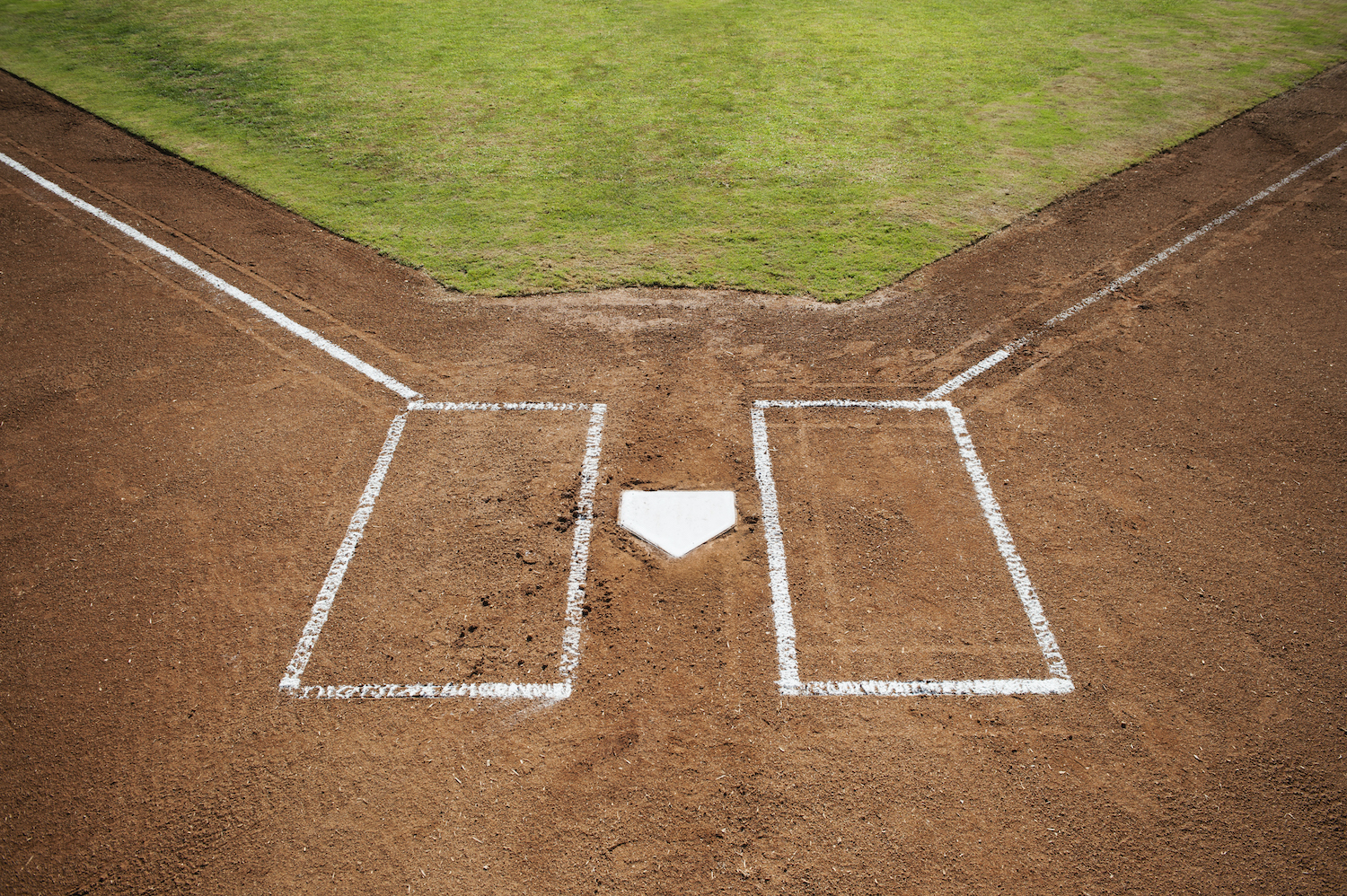 USA, California, Ladera Ranch, baseball diamond